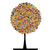 Education tree Royalty Free Stock Photo