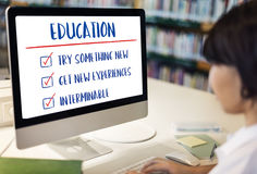 Education Try Something New Development Concept.  Royalty Free Stock Image