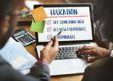 Education Try Something New Development Concept Stock Photography