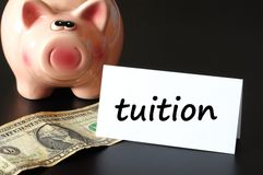 Education tuition Stock Photo