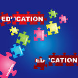 Education Vector Royalty Free Stock Photos
