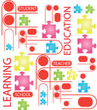 Education Vector Royalty Free Stock Image