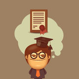 Education. Vector format Royalty Free Stock Image