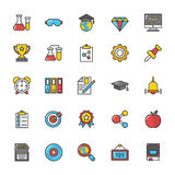 Education Vector Icons 4 Stock Images