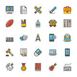 Education Vector Icons 7 Stock Photo