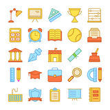 Education Vector Icons 3 Royalty Free Stock Photo