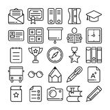 Education Vector Icons 6 royalty free illustration