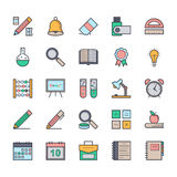 Education Vector Icons 1 Royalty Free Stock Photo