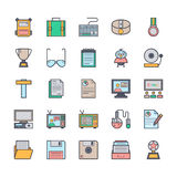 Education Vector Icons 4 Royalty Free Stock Photography