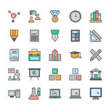 Education Vector Icons 2 Stock Photography