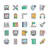 Education Vector Icons 3 Stock Images