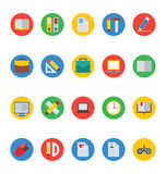 Education Vector Icons 1 Stock Photography