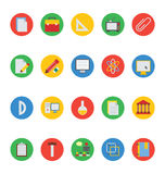 Education Vector Icons 2 Stock Photo