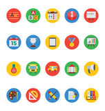 Education Vector Icons 4 Stock Image