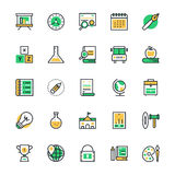 Education Vector Icons 2 Royalty Free Stock Images