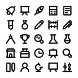 Education Vector Line Icons 1 Stock Photography