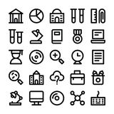Education Vector Line Icons 2 Stock Photography