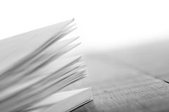Education and wisdom concept - Macro view of book pages. Education wisdom concept - Macro view of book pages royalty free stock images