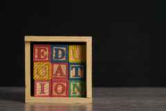 Education word Royalty Free Stock Images