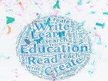 Education words Stock Photos