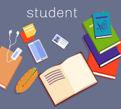 Education Work Space Student Design Royalty Free Stock Image