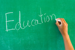 Education written Stock Photos
