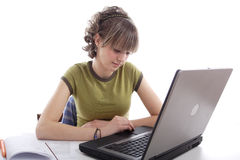 Education_girl Stock Images
