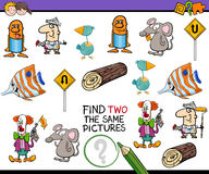 Educational activity for children Stock Image