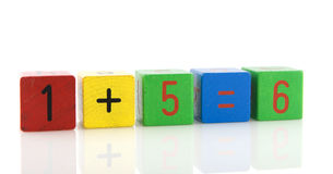 Educational blocks Stock Photos