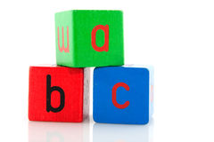 Educational blocs Royalty Free Stock Image