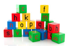 Educational blocs Stock Image