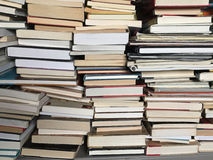 Free Educational Books Piled On Table Royalty Free Stock Images - 83503419