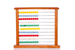Educational colorful abacus Royalty Free Stock Image