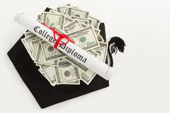 Educational cost Stock Photos