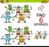 Educational difference game Royalty Free Stock Photo