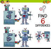 Educational differences game Royalty Free Stock Images