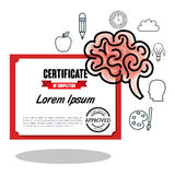 educational elements isolated icon design Royalty Free Stock Images