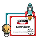 educational elements isolated icon design Royalty Free Stock Photography