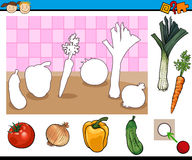 Educational game for children Stock Photography