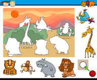 Educational game for preschool kids Royalty Free Stock Photos