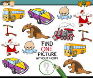 Educational kindergarten task Royalty Free Stock Photos
