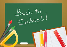 Educational objects royalty free illustration