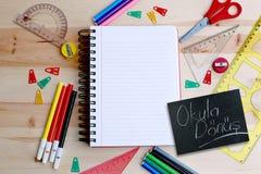 Educational preparation Royalty Free Stock Photos