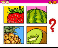 Educational puzzle for preschoolers Royalty Free Stock Photography