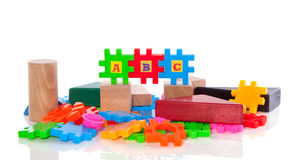 Educational Puzzle Toys Royalty Free Stock Photo