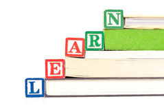 Educational Reading Concept Stock Image