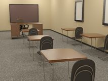 Educational room Royalty Free Stock Photos