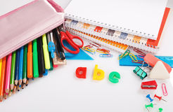 Educational supplies Stock Images