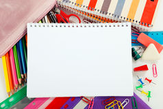 Educational supplies Royalty Free Stock Photography