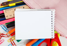Educational supplies Royalty Free Stock Image